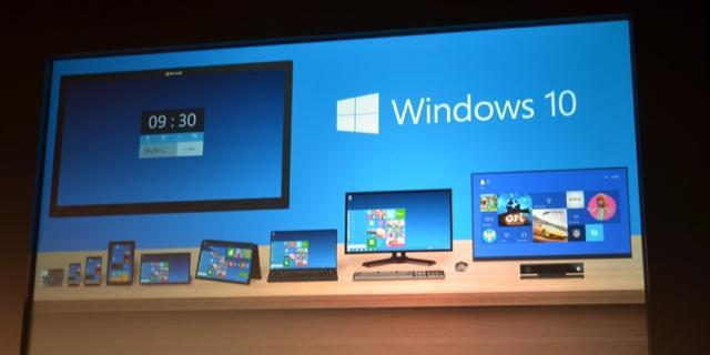 Hardware-eisen Windows 10 gelijk aan Windows 8