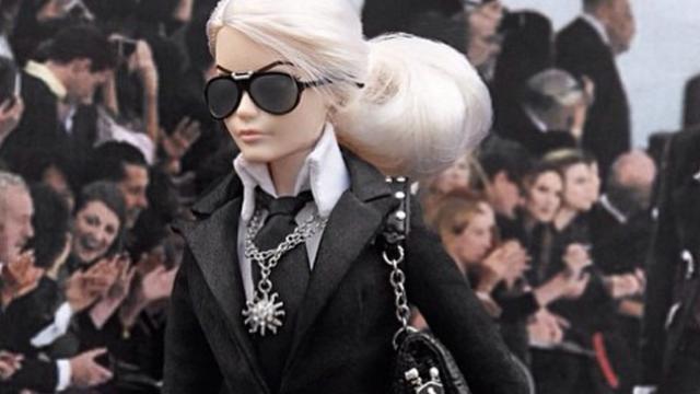 Lagerfeld Barbie binnen een dag uitverkocht