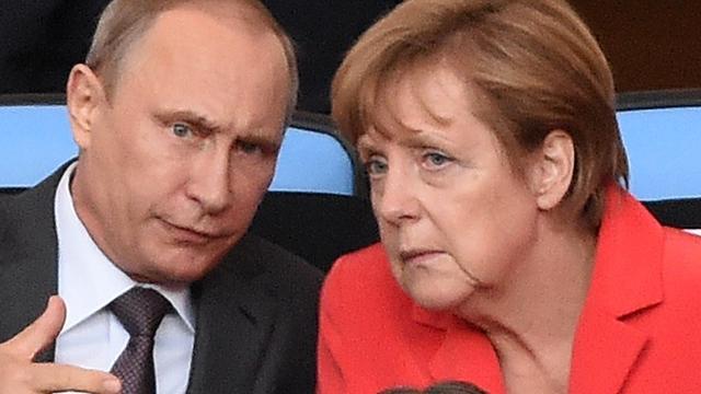Merkel verwacht langdurige crisis met Rusland