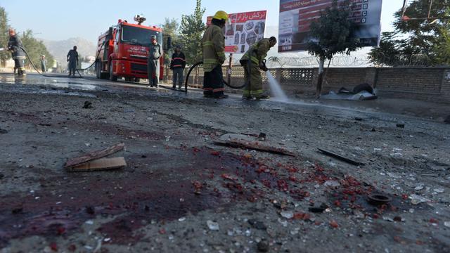 Zelfmoordaanslagen Kabul eisen zeven levens