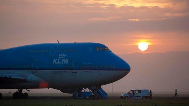 Operationele winst KLM met kwart omlaag