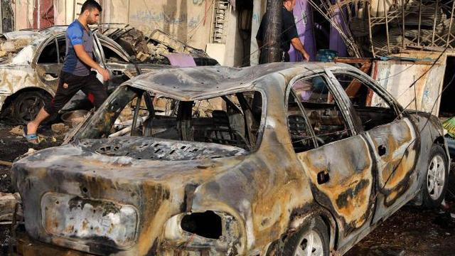 Zeker achttien doden door dubbele aanslag in Bagdad