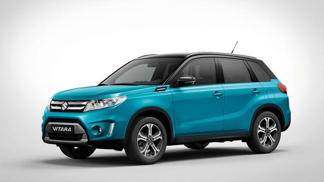 Suzuki Vitara komt beschikbaar met turbomotor