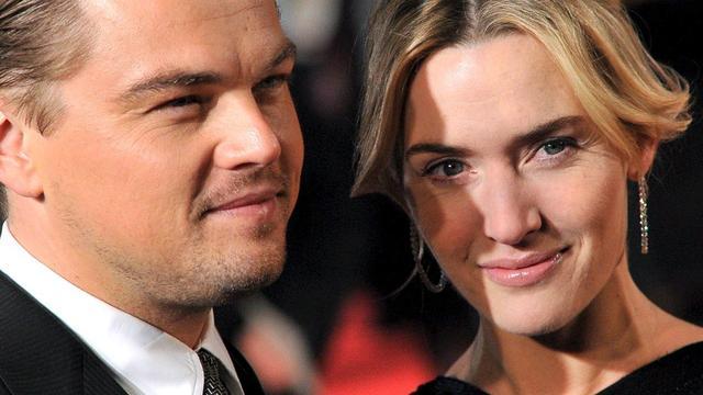 Kate Winslet wil weer met Leonardo DiCaprio werken