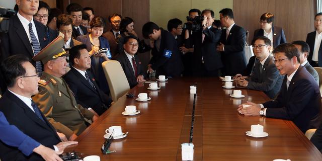 'Twee Korea's houden besprekingen over vijandigheden'