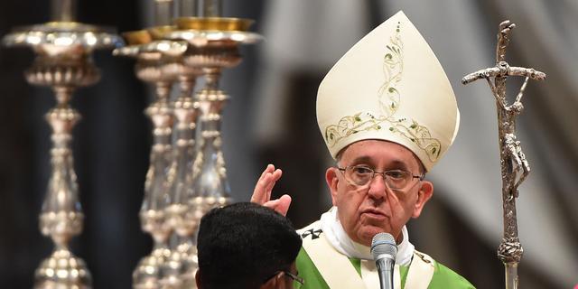 Paus noemt wapenfabrikanten 'geen christenen'