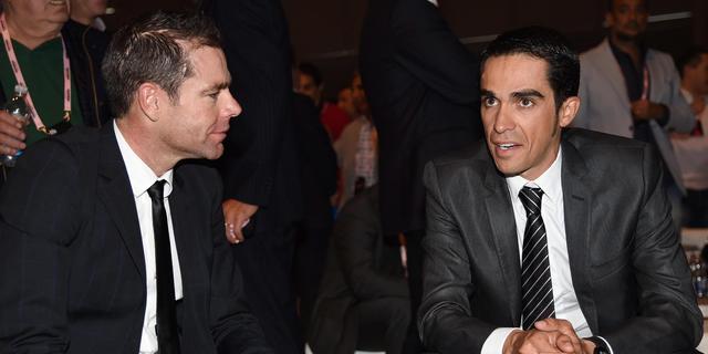 Contador voor vierde keer wielrenner van het jaar
