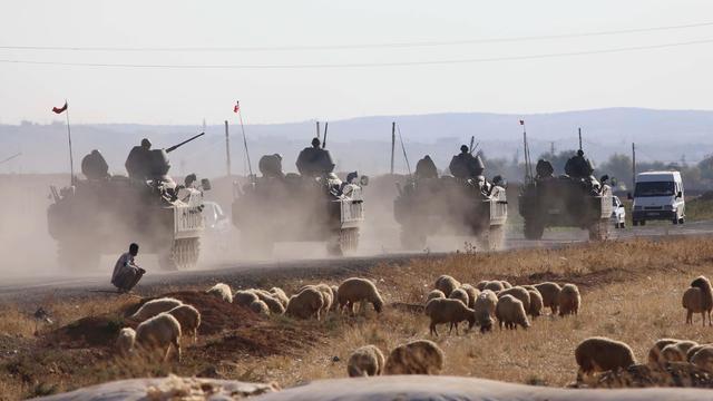 Opmars IS in Kobani toont verzwakking Koerdisch verzet