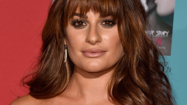 Glee-actrice Lea Michele weer vrijgezel