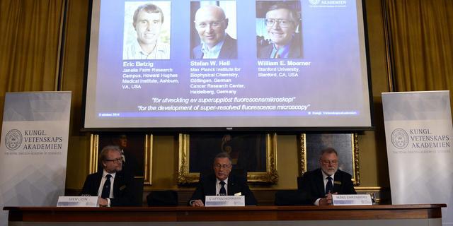 Nobelprijs Scheikunde voor werk in nanoscopie