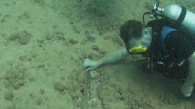 Archeologen speuren Romeins scheepswrak af