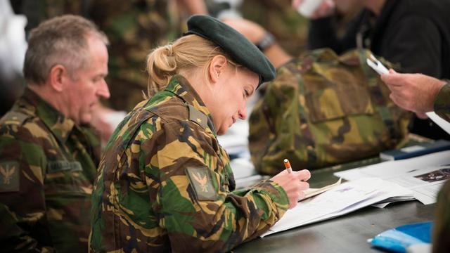 Paniek bij Duitsers om Nederlandse soldaten