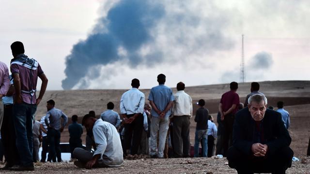 Luchtaanvallen Kobani hebben volgens VS effect