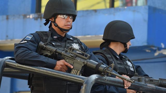 Zeker tien Mexicaanse criminelen gedood bij grens VS