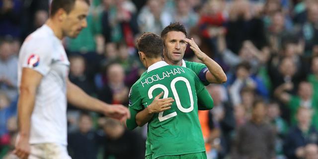 Ierland met routiniers Given en Keane tegen Oranje