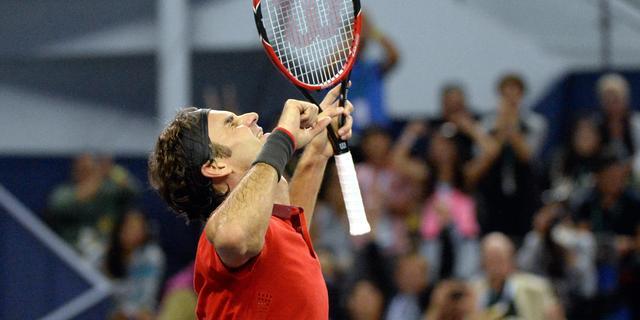 Federer na primeur in Shanghai: 'Ik kan niet trotser zijn'