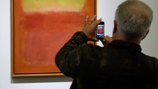 Tentoonstelling Rothko in Haags Gemeentemuseum breekt record