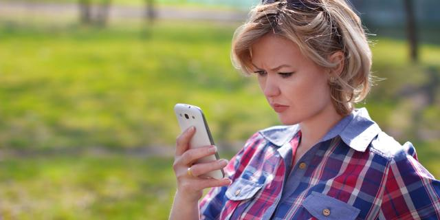 'Gebruik van smartphone maakt vingertoppen gevoeliger'