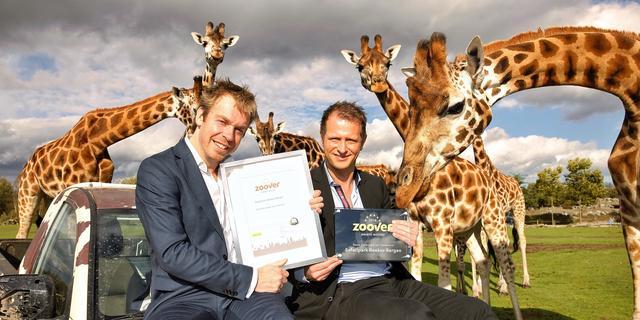 'Safaripark Beekse Bergen opnieuw beste dierenpark van Nederland'