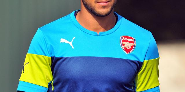 Walcott keert terug op trainingsveld bij Arsenal