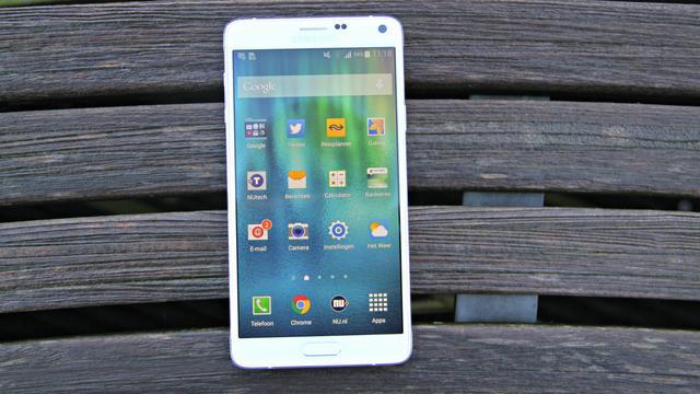 Nieuwe versie Galaxy Note 4 krijgt sneller 4G