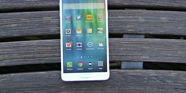 Review: Galaxy Note 4 blijft overeind ondanks sterkere concurrentie