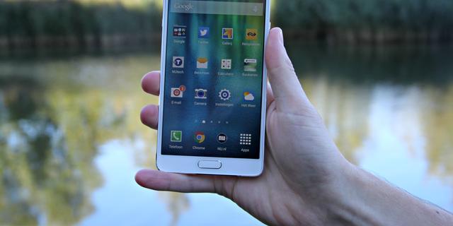 Galaxy Note 4: Samsung blijft overeind ondanks toenemende concurrentie