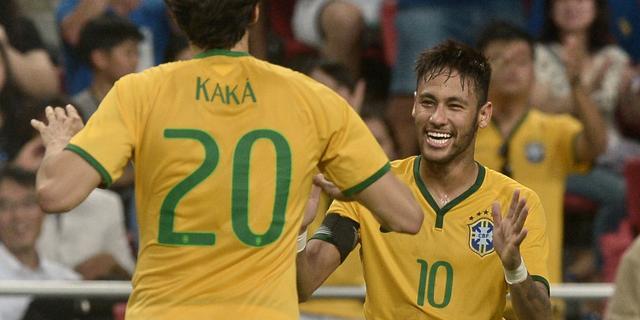 Neymar scoort vier keer voor Brazilië, Argentinië haalt uit