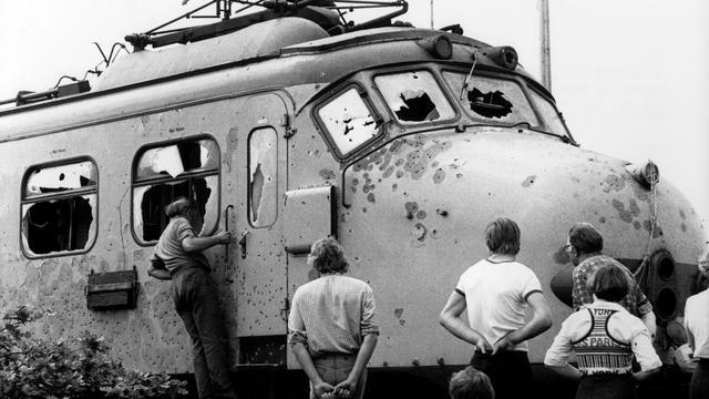 Molukse nabestaanden treinkaping klagen Staat aan