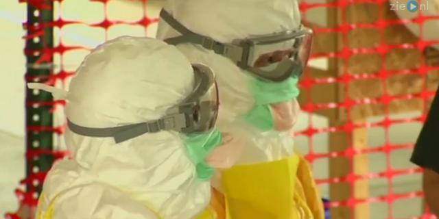 Video: Ebola-kostuum te koop en overvallers met water verjaagd