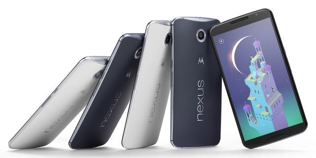 Google stopt verkoop Nexus 6
