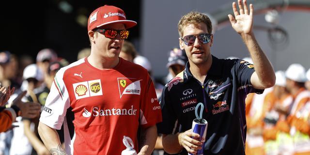 Red Bull zal Vettel niet eerder vrijgeven voor Ferrari-test