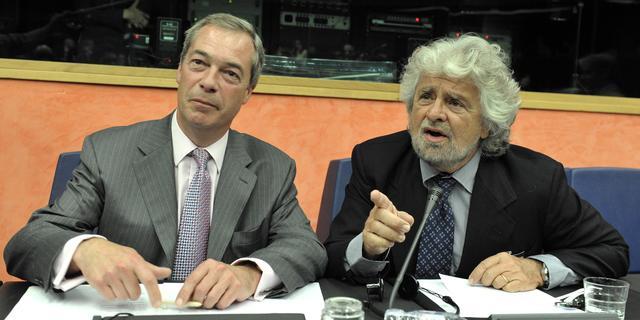 Eurosceptische fractie EU-parlement uiteen gevallen