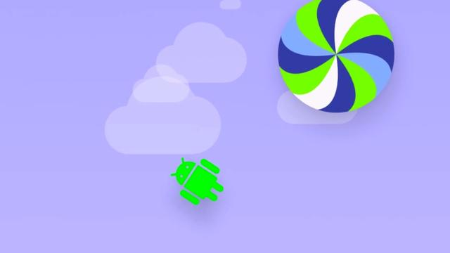 Android Lollipop bevat Flappy Bird-kloon