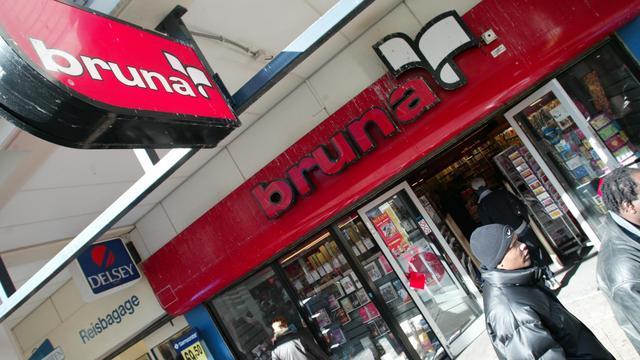 Bruna gaat toch niet samenwerken met Sandd en DHL