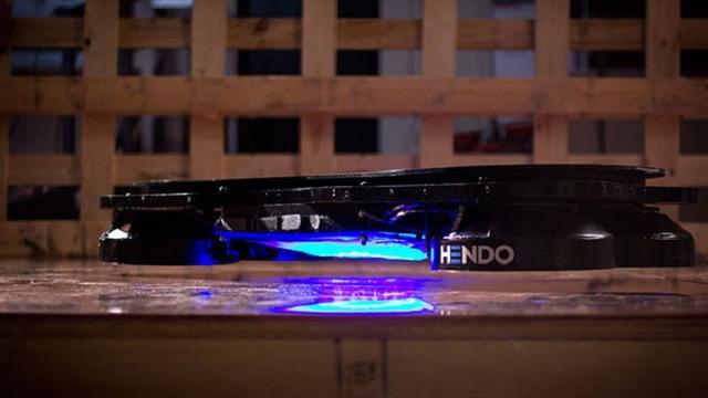 Bedrijf verkoopt werkend hoverboard op Kickstarter