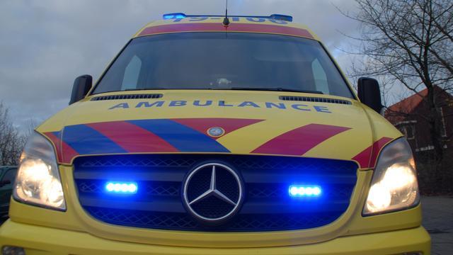 Twee gewonden na ongeval op Nieuwe Zuidbeekseweg in Vlissingen