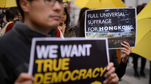 Overleg leider Hongkong en demonstranten levert niets op