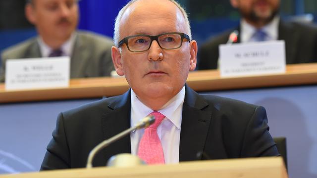 Extra taak voor EU-commissaris Timmermans