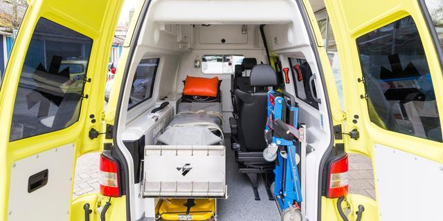 Man bedreigt ambulancepersoneel