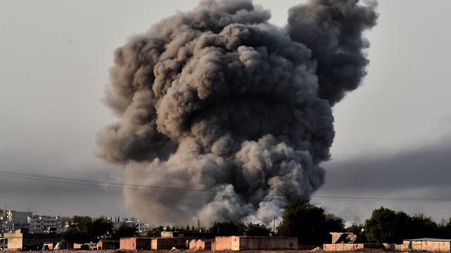 'In een week 182 doden door luchtaanvallen Syrische regime'