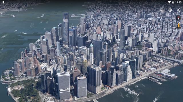Google Earth voor Android krijgt verbeterde 3d-technologie