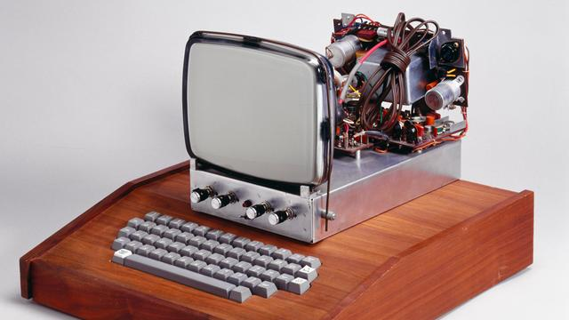 Oude Apple-computer geveild voor ruim 7 ton