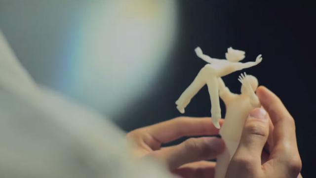 Startup laat blinden 3d-geprinte foto's voelen