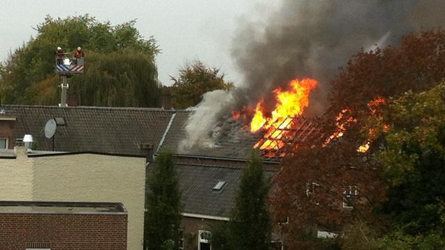 Grote brand uitgebroken in flat Gemert