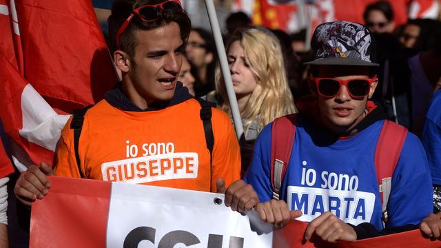 Demonstraties in Italië om versoepeling ontslagrecht