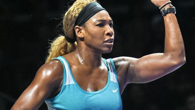 Serena Williams en Halep bereiken eindstrijd WTA Finals