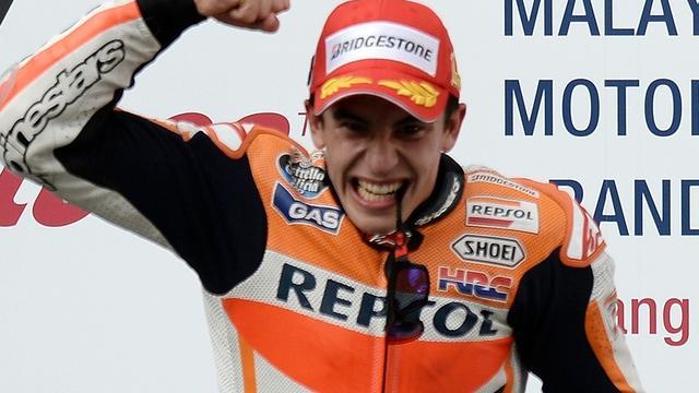 Marquez evenaart record met twaalfde zege in MotoGP