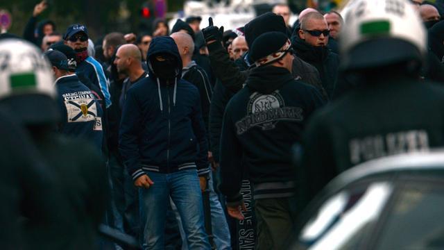 Rellen Keulen bij betoging tegen islamisme