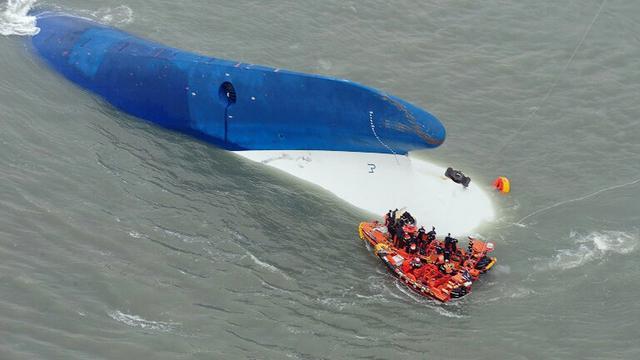 Bijna drie jaar na ramp begint berging Koreaans passagiersschip Sewol